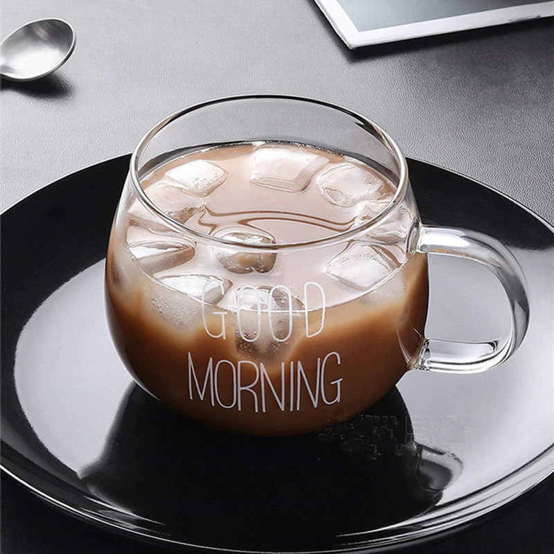 iced coffee in glass cup