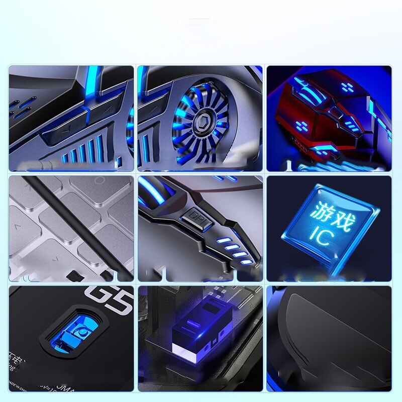 details of a gaming mouse