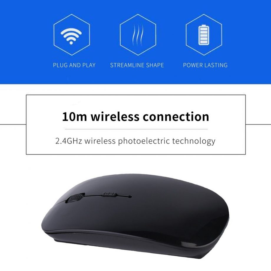 wireless mouse attachment details